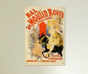 Reklama metalowa vintage  MOULIN ROUGE